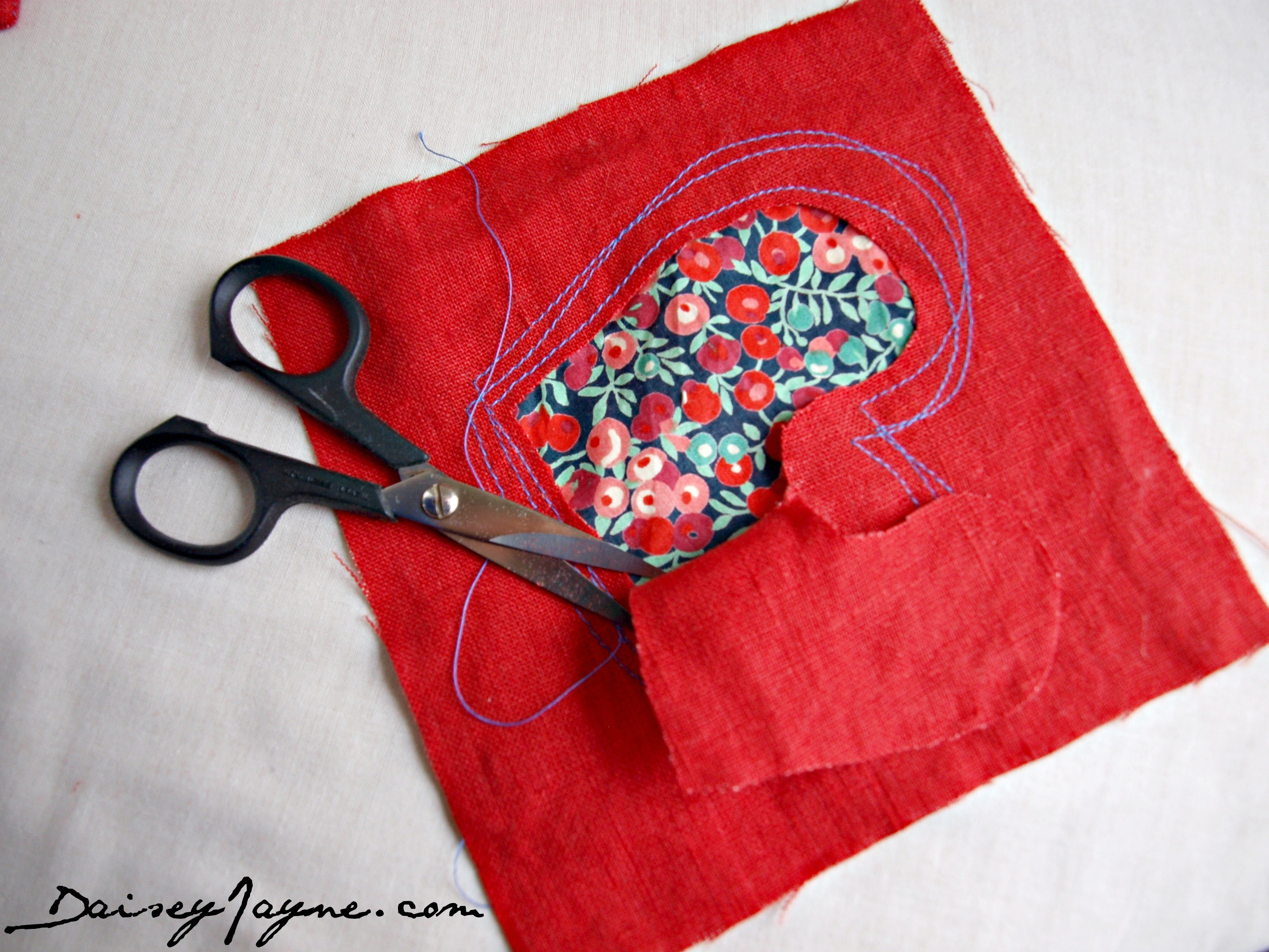Reverse Applique Coasters I Just Love This Technique Daisey Jayne