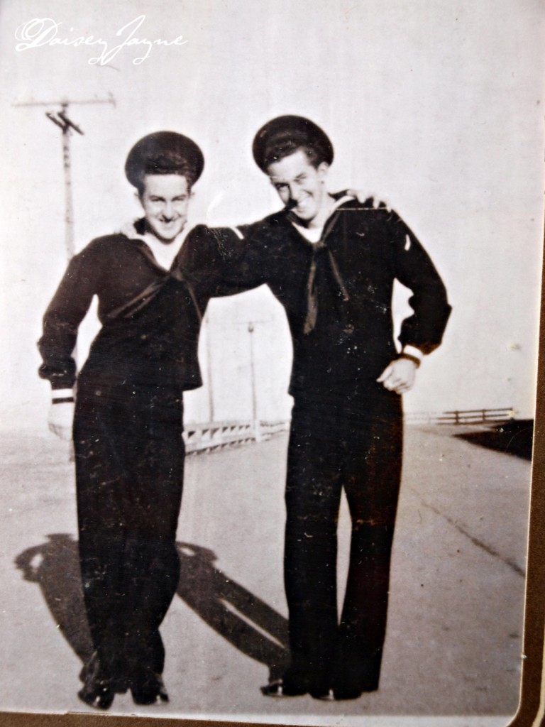 Jack and Jay, my dad and his twin served in the Navy