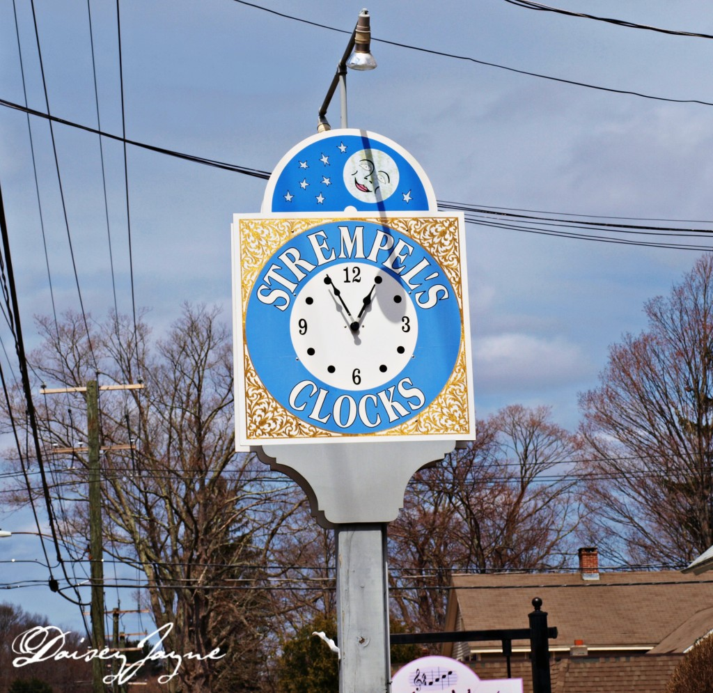 Strempel's Clocks sign