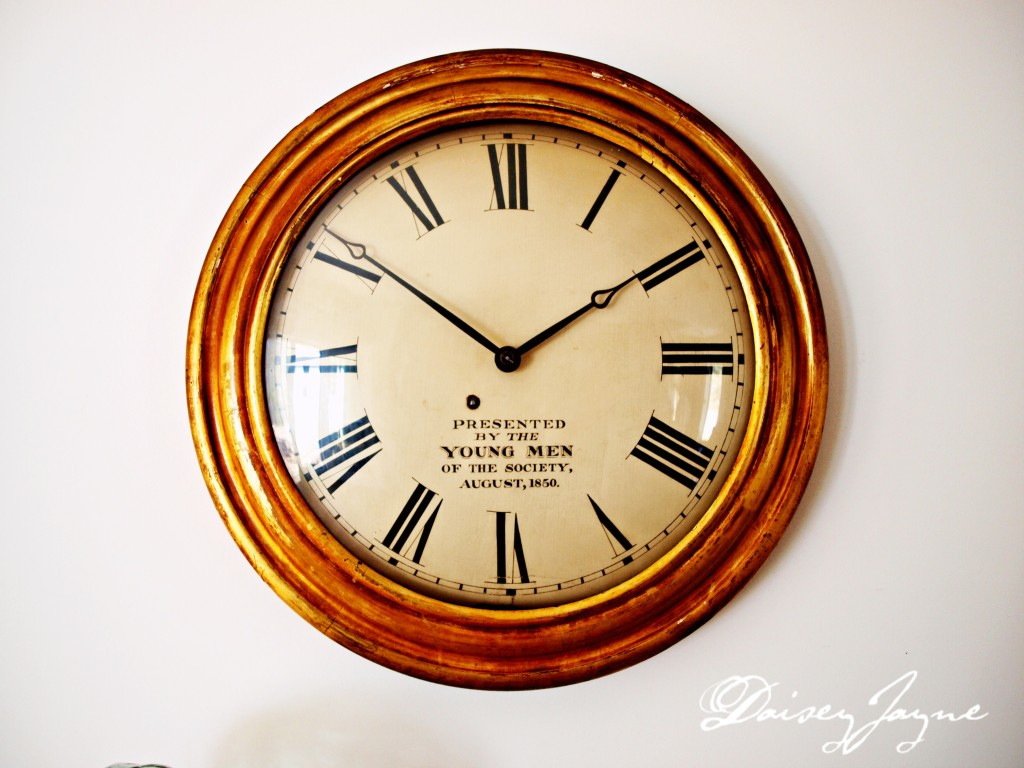 Antique gallery clock