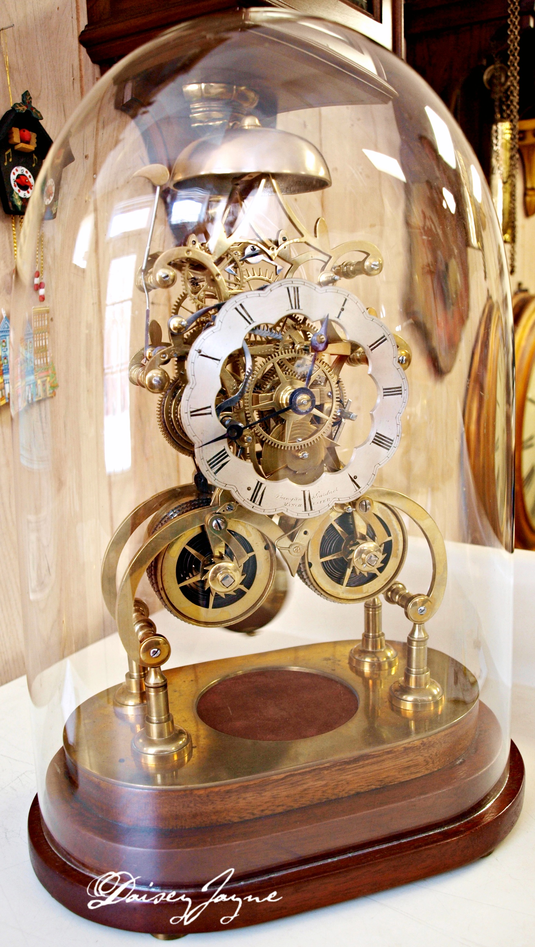 The antique gallery clock - Daisey Jayne