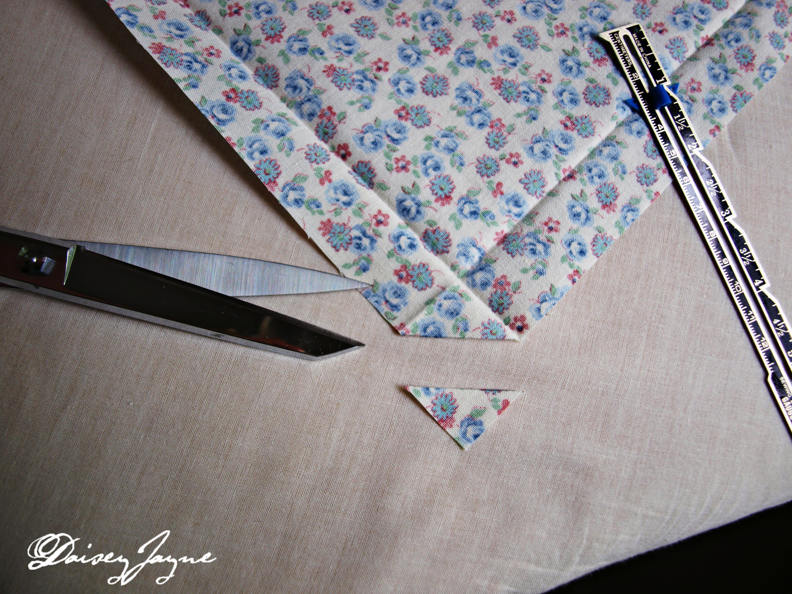 how to stop fold lines in folded fabric