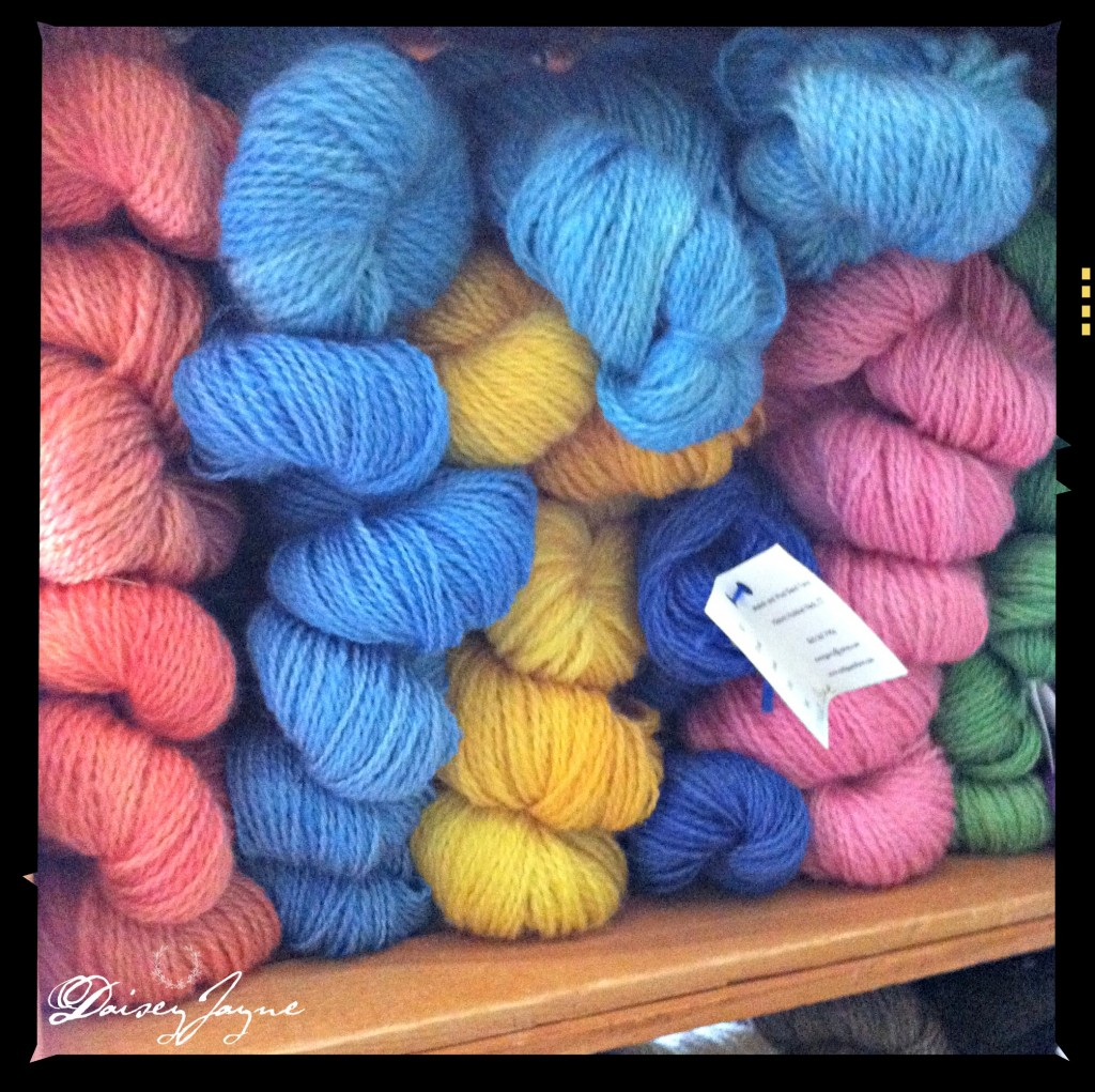 Cold Goats Farm yarn
